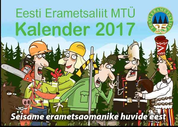 Eesti erametsa liidu kalender 2017