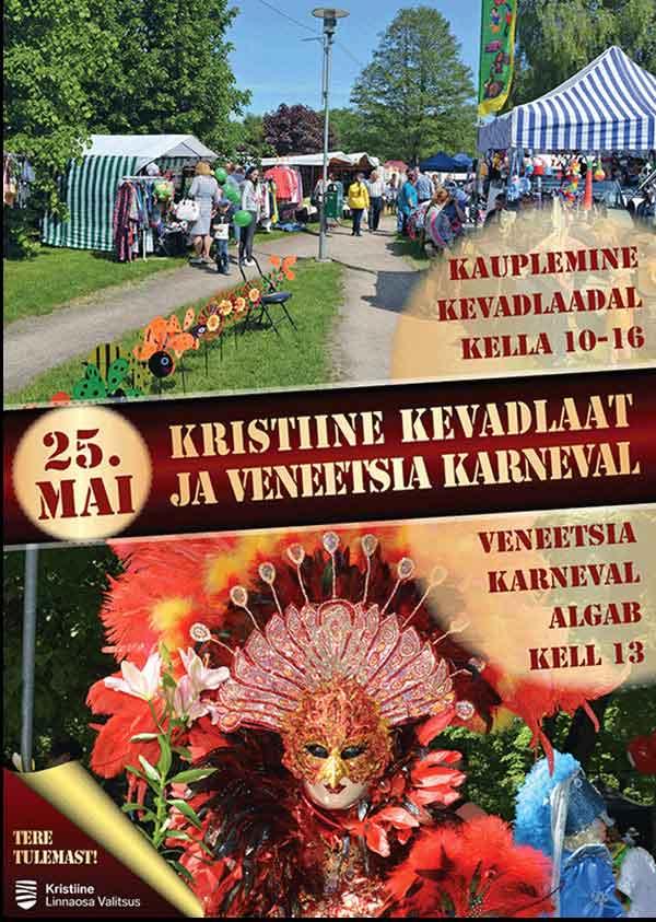 Kristiine kevadlaat ja veneetsia karneval