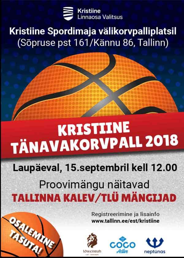 Kristiine tänavakorvpall 2018