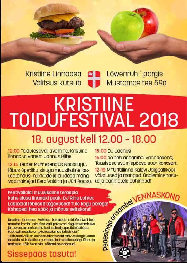 Kristiine toidufestival 2018